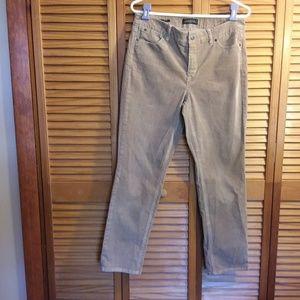 Talbots Women's Tan Corduroy Jeans
